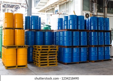 Industry oil drum or chemical barrel