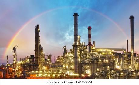 Industry - oil refinery