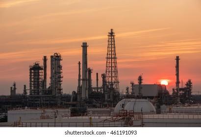 Industry Oil refinery