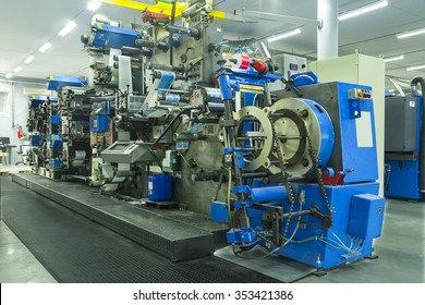 Industry Printing Press of labels for products