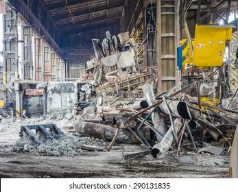 industry in ruins
