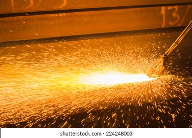 Industry steel, Peeling of slab.