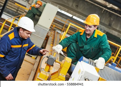 industry worker repairman with spanner