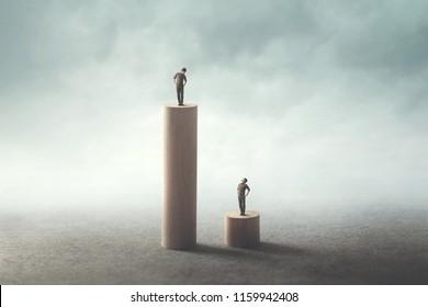 inequality between people concept