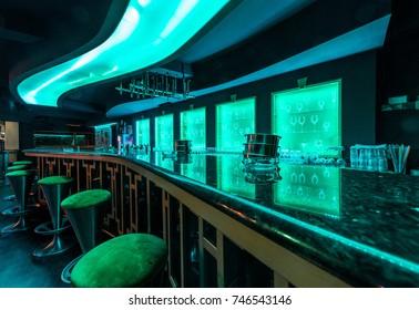 Ineterior design od discotheque