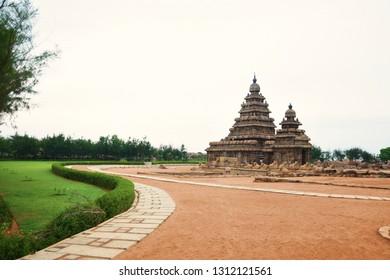 """""""Infamous Shore Temple of Mahabalipuram, Tamilnadu, South India"""""""