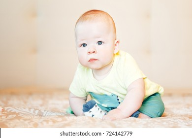 Infant Baby Child Boy Six Months Old