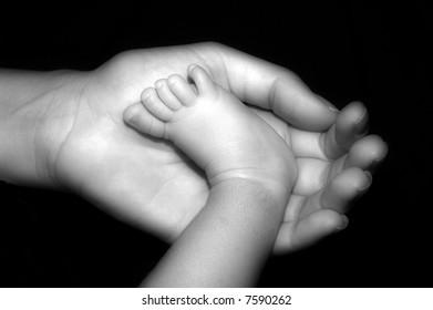 infant foot