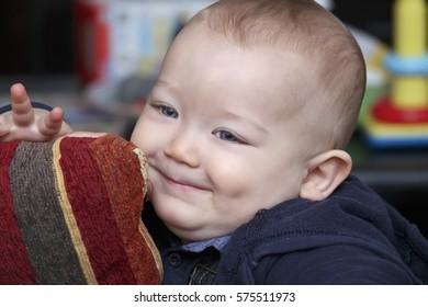 Infant male portrait