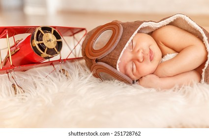 infant. small pilot