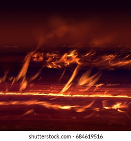 Inferno of flames
