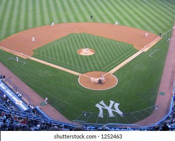 Infield of Yankees Stadium