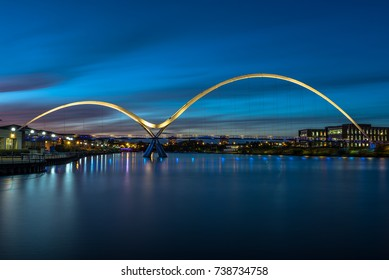 Infinity Bridge,Stockton-on-Tees, UK