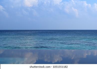 Infinity Edge To Ocean Swimming Pool