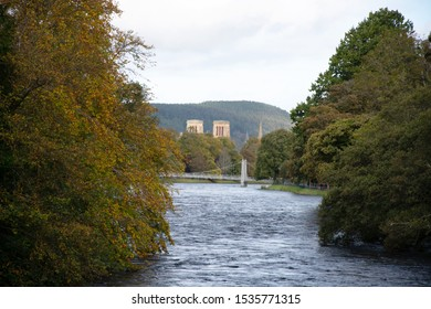 Infirmary Bridge and Inverness Cathedral
