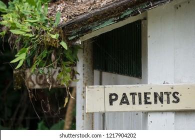 Infirmary found at the leprosy colony on the island of Molokai, Hawaii
