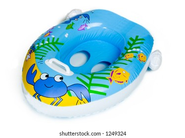 Inflatable Baby Boat Pool Toy