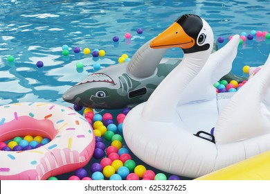 Pool Toys Images, Stock Photos & Vectors | Shutterstock