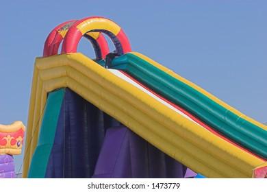 Inflatable jumping castle / slide
