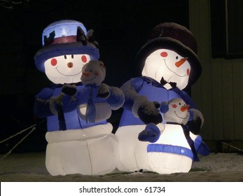 Inflatable Snow People