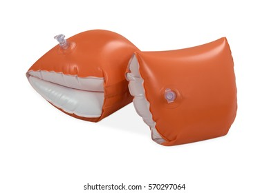 Inflatable water wings swim float aid