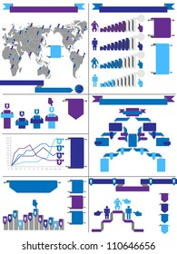 INFOGRAPHIC DEMOGRAPHIC RTERO LABBEL PURPLE