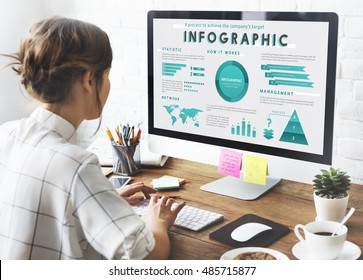 Infographic Global Business Marketing Plan Concept - Shutterstock ID 485715877