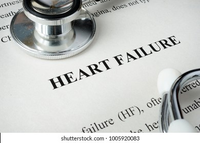 Information about Heart failure and glasses.
