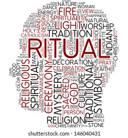 Info-text graphic - ritual