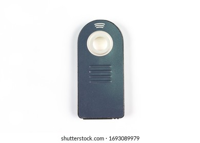 Infrared camera remote isolate white background