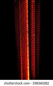 Infrared heater round shape