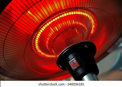 Infrared heater round shape