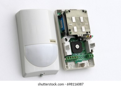 Infrared Microwave motion Detector