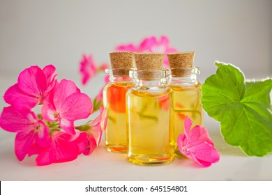 infusion of geraniums