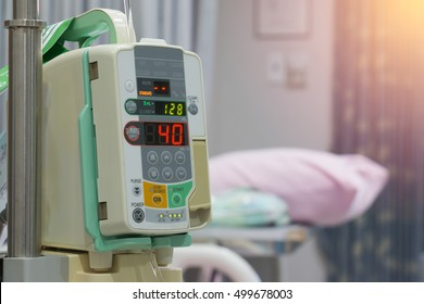 Infusion pump in the hospital