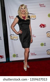 Ingenue arrives at the 10th Annual Indie Series Awards at The Colony Theatre in Burbank, CA on April 3, 2019.