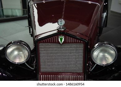 Ingolstadt, Germany - April 9, 2019: 1931 DKW Front F1 Roadster. The first volume production front wheel drive car. Cheapest car on German market at appearance. Classic retro 1930s old vehicle.