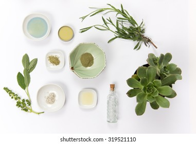 Ingredients for a Homemade Organic Skincare