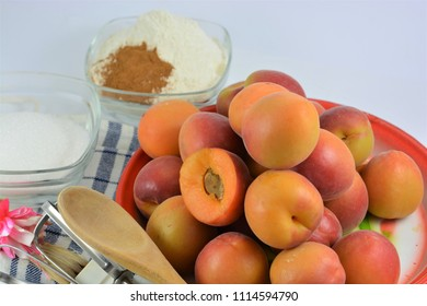 Ingredients for a pie