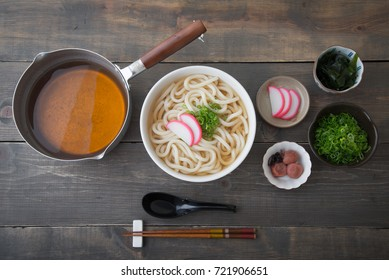 ingredients for udon noodle
