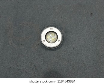 the inground recessed LED uplight at the outdoor concrete floor got water and moisture ingress.