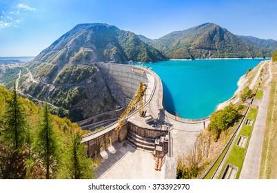 The Inguri Dam is a hydroelectric dam on the Inguri River in Georgia