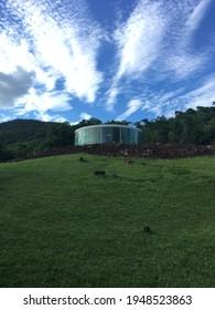 Inhotim Institute, Brumadinho, Minas Gerais, Brazil, November 3rd, 2018 - Sonic Pavilion de Doug Aitken