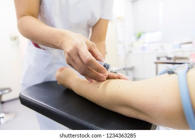 injection to the arm