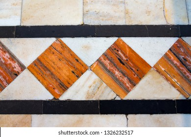 Inlaid colored tile of  Delhi's , Sikh Temple