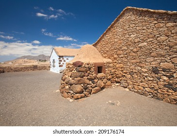 Inland Fuerteventura, open air museum  Ecumuseo la Alcogida, restrored old style houses