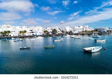 Inland Port Arrecife Lanzarote Spain