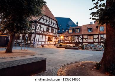 Inner City Museum Of Wernigerode Summer Evening