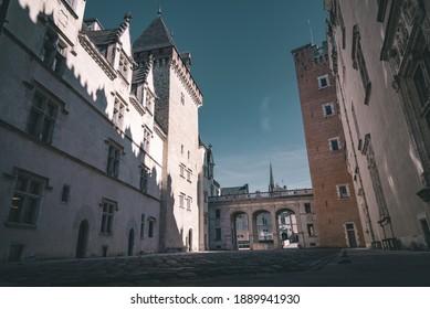 La cour intérieure du château de Pau.