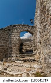 Inner gate in the Fortress of Travnik, Bosnia